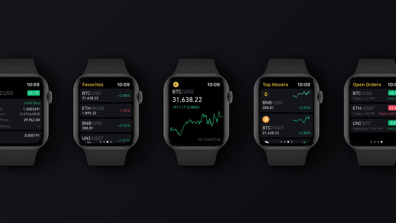 Introducing Binance.US for Apple Watch